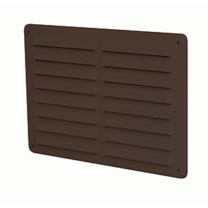 Manrose Hips Gas Vent - Brown 225 x 150mm
