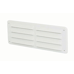 Manrose PVC Gas Vent - White 225 x 75mm