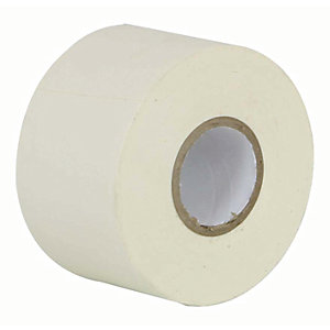 Manrose PVC White Tape - 50mm x 33m
