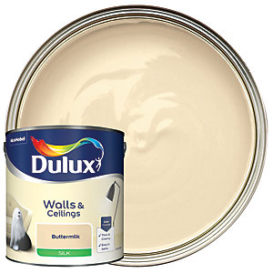 Dulux - Buttermilk - Silk Emulsion Paint 2.5L