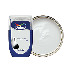 Dulux - Cornflower White - Emulsion Paint Tester Pot 30ml