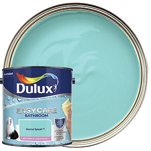 Dulux Easycare Bathroom - Marine Splash - Soft Sheen Emulsion Paint 2.5L
