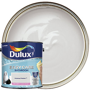 Dulux Easycare Bathroom - Polished Pebble - Soft Sheen Emulsion Paint 2.5L