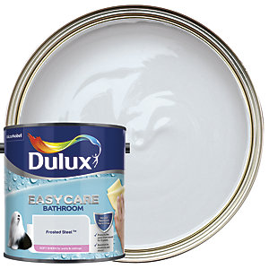 Dulux Easycare Bathroom Soft Sheen Emulsion Paint - Frosted Steel 2.5L