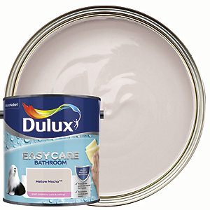 Dulux Easycare Bathroom Soft Sheen Emulsion Paint - Mellow Mocha 2.5L