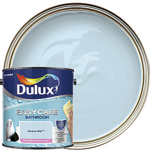 Dulux Easycare Bathroom Soft Sheen Emulsion Paint - Mineral Mist 2.5L