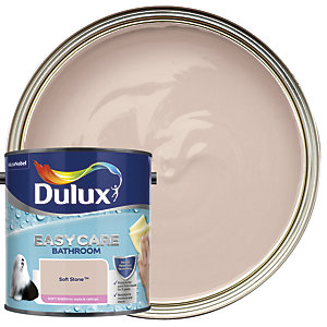 Dulux Easycare Bathroom Soft Sheen Emulsion Paint - Soft Stone 2.5L