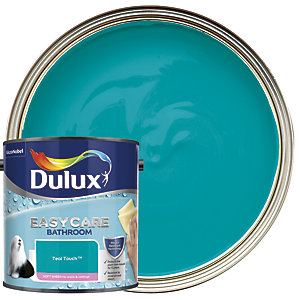 Dulux Easycare Bathroom Soft Sheen Emulsion Paint - Teal Touch 2.5L