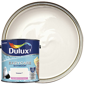 Dulux Easycare Bathroom Soft Sheen Emulsion Paint - Timeless 2.5L