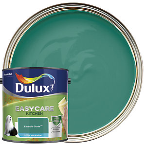 Dulux Easycare Kitchen - Emerald Glade - Matt Emulsion Paint 2.5L