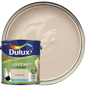 Dulux Easycare Kitchen Matt Emulsion Paint - Caramel Latte 2.5L