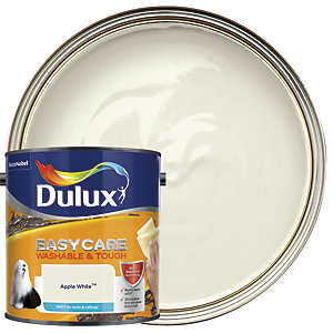 Dulux Easycare Washable & Tough - Apple White - Matt Emulsion Paint 2.5L