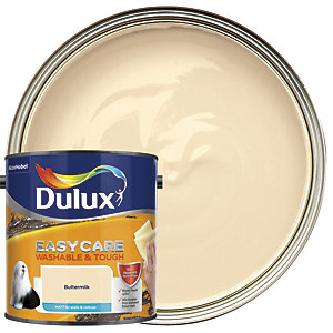 Dulux Easycare Washable & Tough - Buttermilk - Matt Emulsion Paint 2.5L