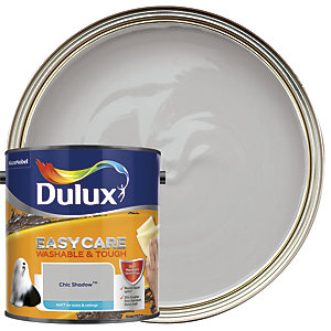 Dulux Easycare Washable & Tough - Chic Shadow - Matt Emulsion Paint 2.5L