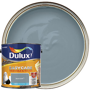 Dulux Easycare Washable & Tough - Denim Drift - Matt Emulsion Paint 2.5L