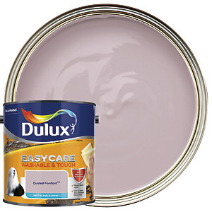 Dulux Easycare Washable & Tough - Dusted Fondant - Matt Emulsion Paint 2.5L