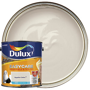 Dulux Easycare Washable & Tough - Egyptian Cotton - Matt Emulsion Paint 2.5L