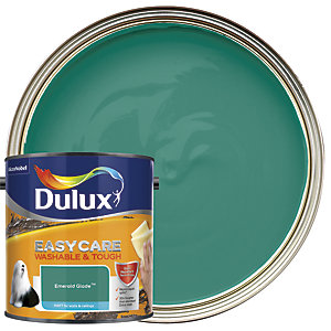 Dulux Easycare Washable & Tough - Emerald Glade - Matt Emulsion Paint 2.5L