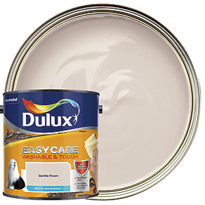 Dulux Easycare Washable & Tough - Gentle Fawn - Matt Emulsion Paint 2.5L