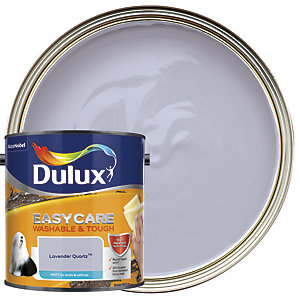 Dulux Easycare Washable & Tough - Lavender Quartz - Matt Emulsion Paint 2.5L