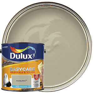 Dulux Easycare Washable & Tough - Overtly Olive - Matt Emulsion Paint 2.5L