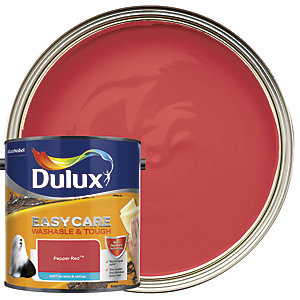 Dulux Easycare Washable & Tough - Pepper Red - Matt Emulsion Paint 2.5L