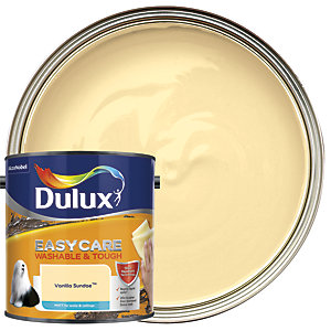 Dulux Easycare Washable & Tough - Vanilla Sundae - Matt Emulsion Paint 2.5L
