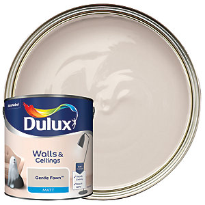 Dulux - Gentle Fawn - Matt Emulsion Paint 2.5L