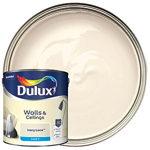 Dulux - Ivory Lace - Matt Emulsion Paint 2.5L