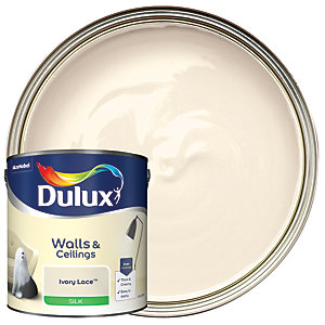 Dulux - Ivory Lace - Silk Emulsion Paint 2.5L