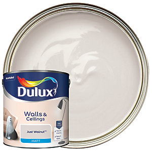 Dulux - Just Walnut - Matt Emulsion Paint 2.5L