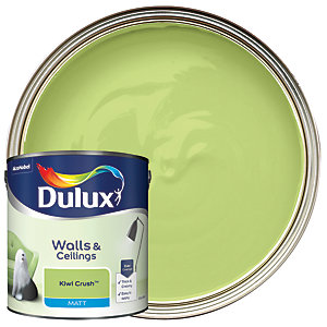 Dulux - Kiwi Crush - Matt Emulsion Paint 2.5L