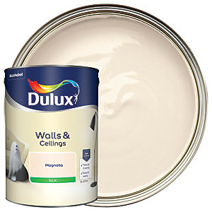 Dulux - Magnolia - Silk Emulsion Paint 5L