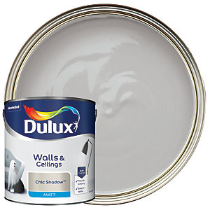Dulux Matt Emulsion Paint - Chic Shadow 2.5L