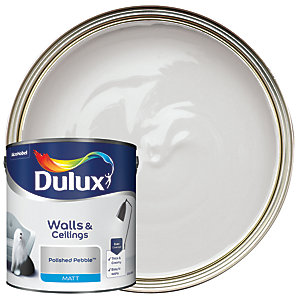 Dulux Matt Emulsion Paint - Polished Pebble 2.5L