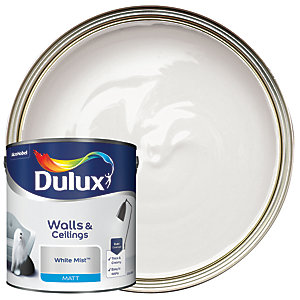 Dulux Matt Emulsion Paint - White Mist 2.5L