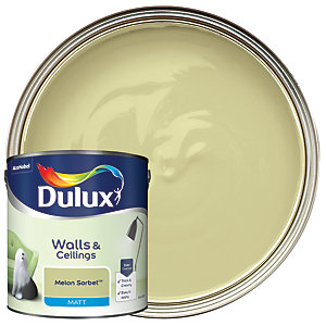 Dulux - Melon Sorbet - Matt Emulsion Paint 2.5L