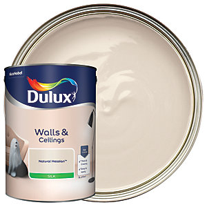 Dulux - Natural Hessian - Silk Emulsion Paint 5L