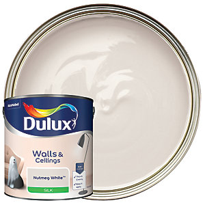 Dulux - Nutmeg White - Silk Emulsion Paint 2.5L
