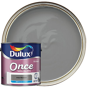 Dulux Once Matt Emulsion Paint - Urban Obsession 2.5L