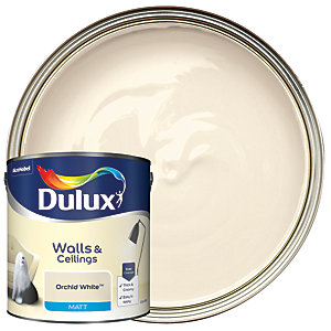 Dulux - Orchid White - Matt Emulsion Paint 2.5L