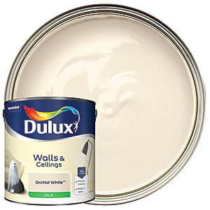 Dulux - Orchid White - Silk Emulsion Paint 2.5L