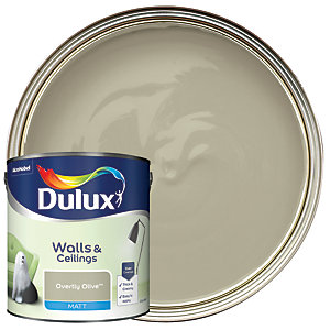Dulux - Overtly Olive - Matt Emulsion Paint 2.5L