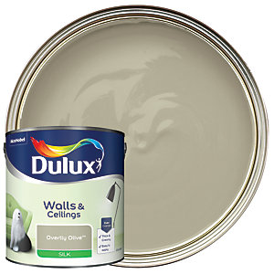 Dulux - Overtly Olive - Silk Emulsion Paint 2.5L