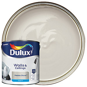 Dulux - Pebble Shore - Matt Emulsion Paint 2.5L