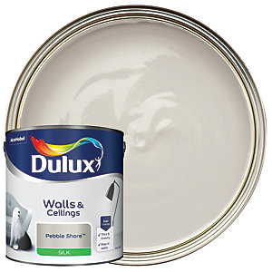 Dulux - Pebble Shore - Silk Emulsion Paint 2.5L