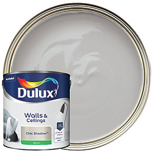 Dulux Silk Emulsion Paint - Chic Shadow 2.5L