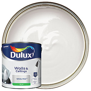 Dulux Silk Emulsion Paint - White Mist 2.5L