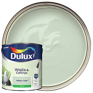 Dulux Silk Emulsion Paint - Willow Tree 2.5L