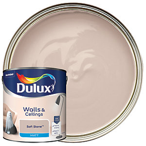 Dulux - Soft Stone - Matt Emulsion Paint 2.5L